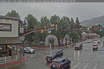 Jackson Hole Town Square Webcam