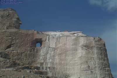 See Crazy Horse Memorial Live Webcam & Weather Report in
