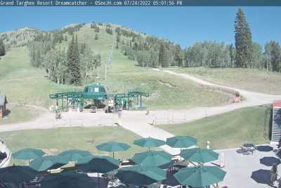 Grand Targhee Dreamcatcher Chair Webcam